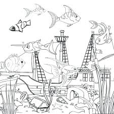 Ocean Coloring Pages For Kids Free Printable Ocean Coloring Pages