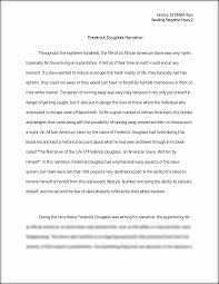 hist frederick douglass narative reading response  this is the end of the preview sign up to access the rest of the document