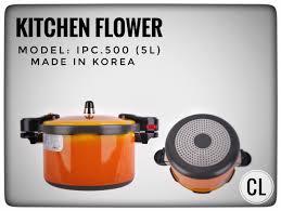 Nồi áp suất Hàn Quốc Kitchen Flower IPC-500 – CHIENLAISHOP