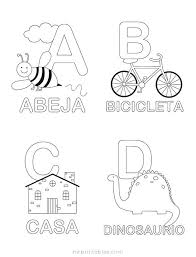 Alphabet Coloring Worksheets Preschool Sheets Pages Also French Free
