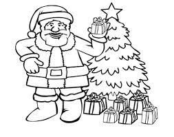 Christmas Santa Claus Coloring Pages 69
