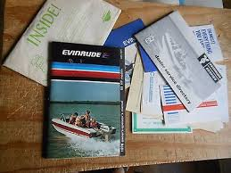 evinrude hp service instruction manual bull cad  1978 evinrude 55hp outboard owner manual 55874 55875 208241