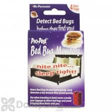 Bed Bug Beacon Monitor for Bed Bugs