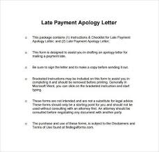 apology letter for delay in payment sample business apology letter for late payment job application