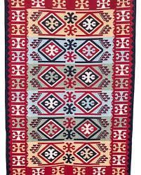 elan turkish rug 120x180 cm 02 maroon off white