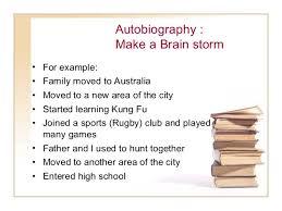 descriptive essay autobiography autobiography make a brain stormbull for example bull