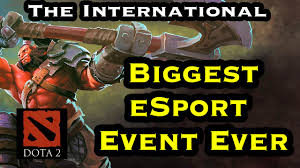 the biggest esport event ever dota 2 the international 2016