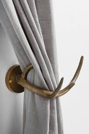 urban outfitters faux antler curtain hold back