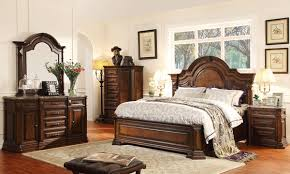 Strikingly Design American Style Bedroom Furniture Rubber Wood Classic Set  Royal Empire