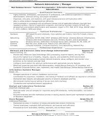 Network And Computer Systems Administrator Sample Resume Inspiration Systems Administrator Cover Letter Network Cover Letter Resume