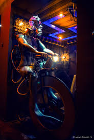 Kinetic Energy Video Steampunk Coffee Shop Comes To Life Through Kinetic Energy