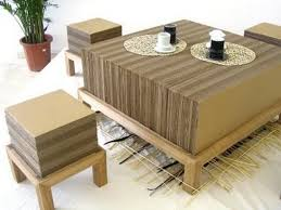 cardboard table cardboard furniture for sale