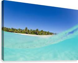 tropical island blue sky and beautiful