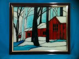reverse glass painting aaishascreativedreams
