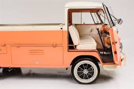 1960 Volkswagen Vanagon Peaches & Cream Manual Pickup Truck ...