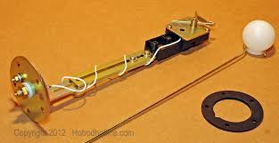 updating to an electrical gauge package hotrod hotline Old Fuel Gauge Wiring fuel gauge sender unit for the new electrical gauge included with the kit has a two part extension arm that adjusts to accommodate the variable depth of Fuel Gauge Problems