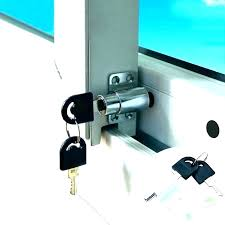 sliding patio door key lock with locks pella parts slidi