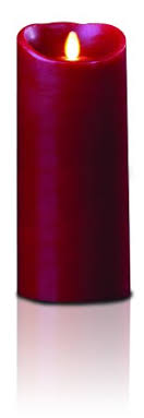 gki bethlehem lighting luminara. gki/bethlehem lighting luminara wax candle, 4 by 9-inch, burgundy gki bethlehem l