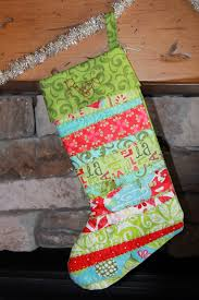 Quilted Christmas Stocking Pattern Awesome Time Of Our Lives Quilted Christmas Stockings