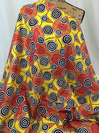 Australian Aboriginal Print Fabric–Grandmother's Journey Yellow ... & Australian Aboriginal Print Fabric--Grandmother's Journey  Yellow--Aboriginal Design--Cotton Adamdwight.com