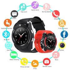 <b>V8 Bluetooth</b> SmartWatch <b>Touch</b> Screen Wrist Watch with Camera ...