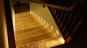 Stairway lighting Chandelier Motion Sensor Led Stair Lights Step Lighting Turned On Super Bright Leds How To Install Motion Sensor Led Stair Lights Super Bright Leds