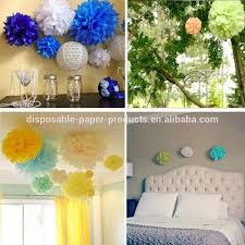 Tissue Balls Party Decorations 100inch Tissue Paper Garland Tissue Paper Pom Poms Mini Poms Party 20