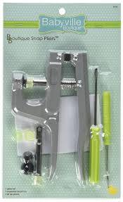 Amazon.com: Babyville Boutique Snap Pliers: Arts, Crafts \u0026 Sewing