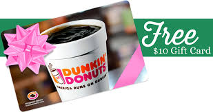 dunkin donuts 10 egift card wyb 25 in gift cards