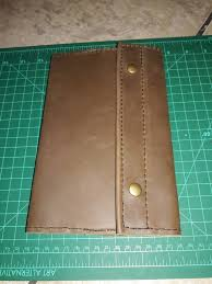 picture of leather moleskine journal cover
