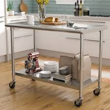 Modern kitchen island Long Quickview Interior Design Ideas Modern Kitchen Islands Carts Allmodern