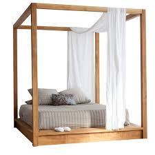 wood canopy bed. Exellent Bed And Wood Canopy Bed Y