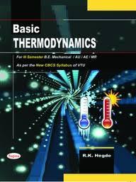 Buy Basic Thermodynamics For 3rd Sem Be Mechanical book : Rk Hegde ...
