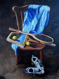Image result for tennis paintings