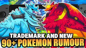 NEW 90+ PokeDex for Pokemon Sword & Shield RUMOUR!? Armored Mewtwo  Trademark Pokemon Sword & Shield? - YouTube