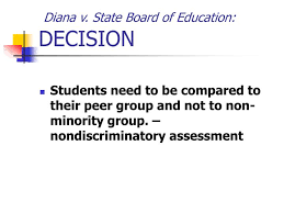 Diana V State Board Of Education Ppt Special Education Litigation Powerpoint Presentation Id 503739