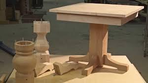 new pedestal table kits you