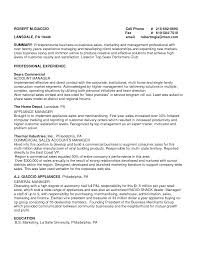 Formidable Outside Sales Resume Summary In Electronic Sales Resume
