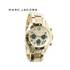 marc jacobs rock men s gold chronograph mbm3158 watch marc by marc jacobs mbm3158 rockstainless steel gold plated stainless steel ion plated chronograph mens