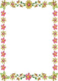 free printable borders teachers printable paper with border free flower borders clipart