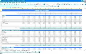Monthly Home Expenses Template Budget Planner Spreadsheet Template