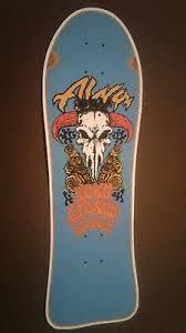 ALVA John Gibson Street replica Skateboard Deck Shaped Sticker ...