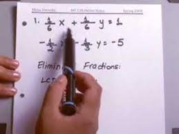 linear equations solve systems