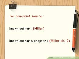 cited sources mla how to cite sources in mla format with pictures wikihow