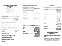 Wedding Program Templates You Can Get For Free Videos Just For Fun