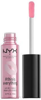 <b>NYX Professional</b> Makeup Thisiseverything Lip Oil - <b>Бальзам для</b> ...