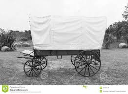 black and white covered wagon. black \u0026 white covered wagon stock image and