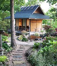 japanese garden design principles - Google Search - looks like a  'bulb-auger'