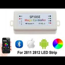 SP105E Magic Bluetooth <b>LED Pixel</b> Controller 5-<b>24V</b> WS2811 ...