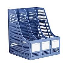 plastic office desk. LAAT Sturdy Desktop Triplicate File Frame Magazine Plastic Office Desk